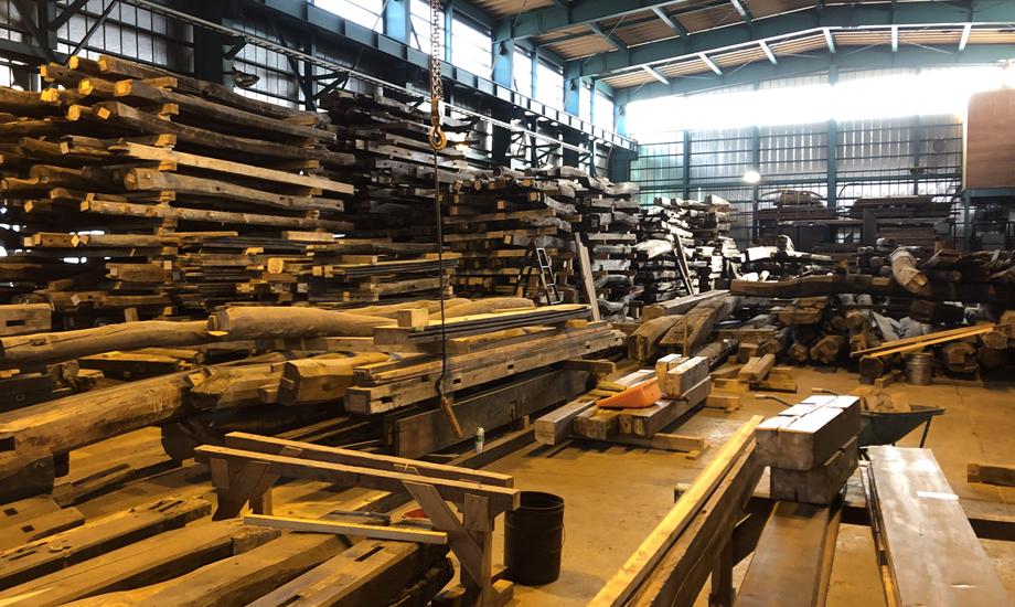 山翠舎倉庫工場